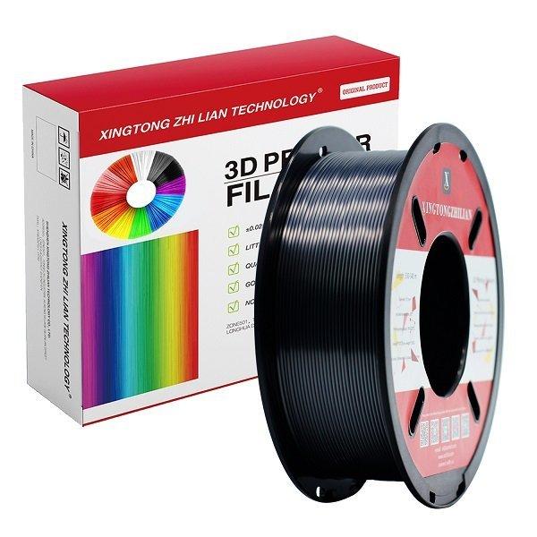 1000g Black Silk Pla With Box Xtzl3d
