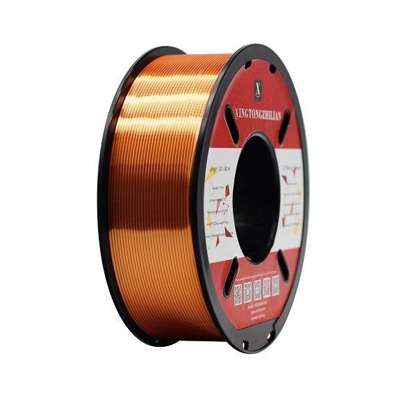 1000g metallic Copper Silk Pla Xtzl3d