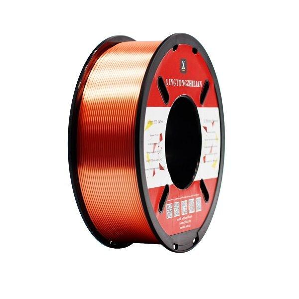 1000g Metallic Red Copper Silk Pla Xtzl3d